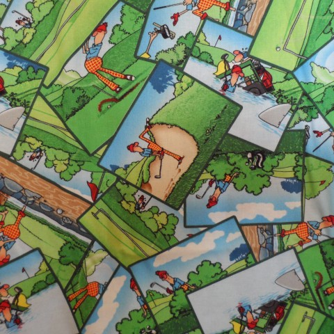 Comic Golf