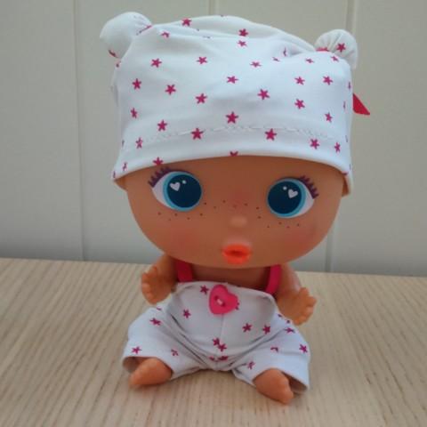 Conjunto Pijama Blanco Estrellas BELLIES