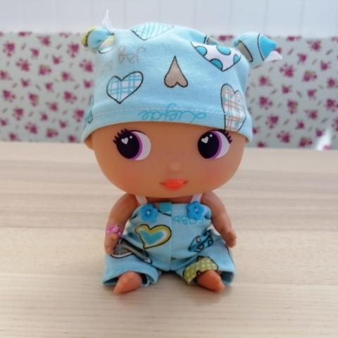 Conjunto Pijama Azul Corazones BELLIES