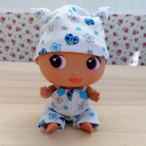 Conjunto Pijama Azul Mariquitas BELLIES