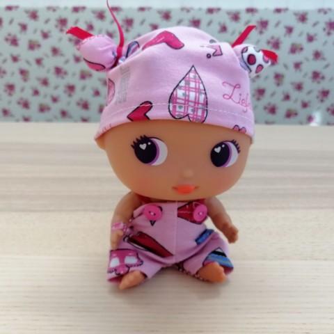 Conjunto Pijama Rosa Corazones BELLIES
