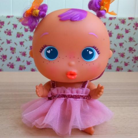 Vestido Princesa Tul Rosa BELLIES