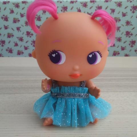 Vestido Princesa Tul Azul BELLIES