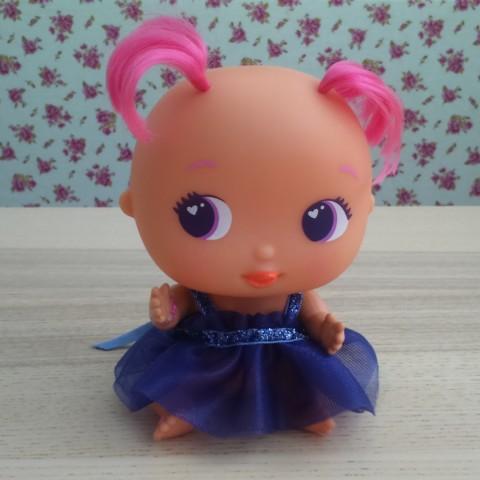 Vestido Princesa Tul Morado BELLIES