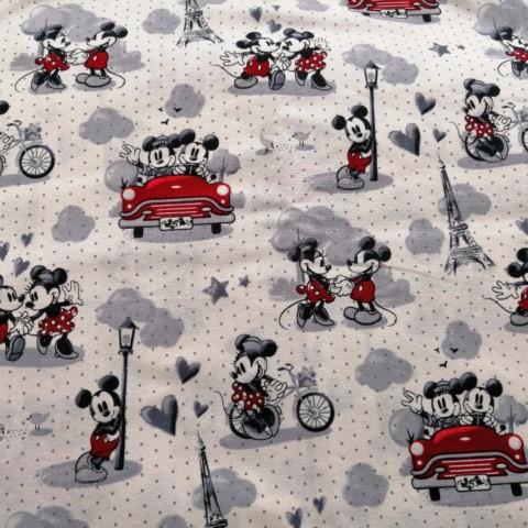 Minnie & Mickey In Love