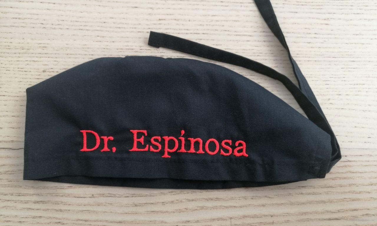 Bordado Dr Espinosa